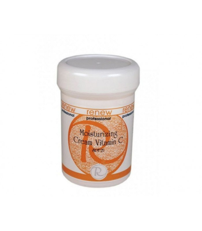 Moisturizing Cream Vitamin C - SPF-25 - Creams&Cleansers - Renew - 250 ml
